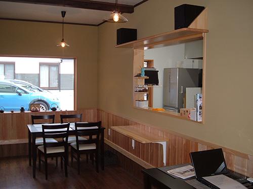 cafe 千両茶屋 店内